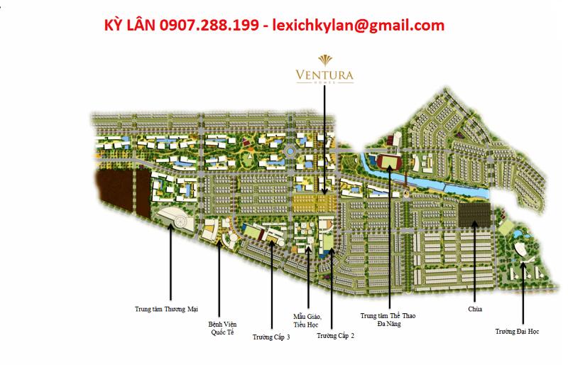 Khu BIỆT THỰ VENTURA QUẬN 2 nằm trong tổng thể 150 ha tại CÁT LÁI