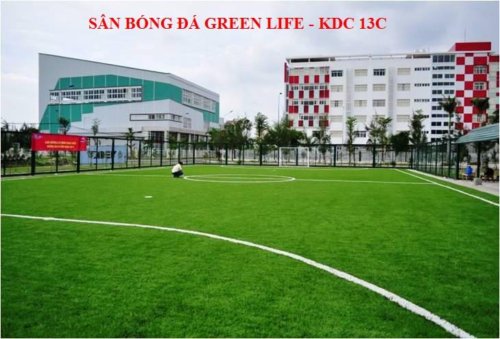 khu liên hợp thể thao tại khu dân cư green life 13c