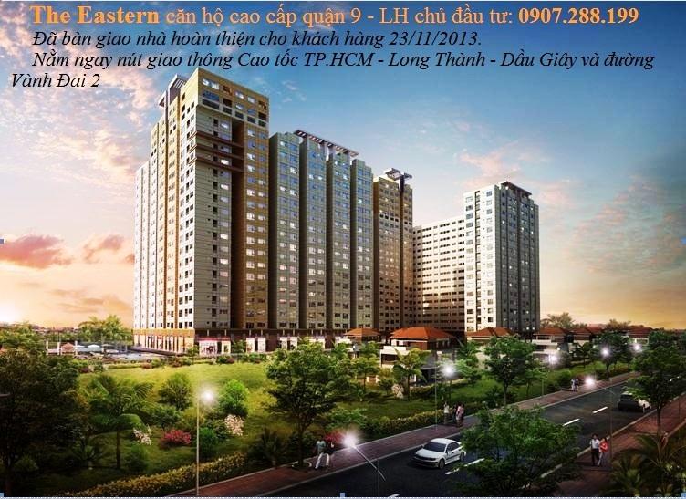 The Eastern căn hộ cao cấp quận 9 nằm gần nút giao thông cao tốc Tp. HCM - Long Thành - Dầu Giây và đường Vành Đai 2