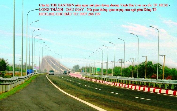 Cầu Long Thành nằm trên tuyến cao tốc Long Thành Dầu Giây