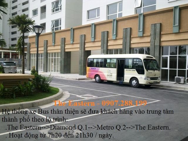 xe bus nội khu The Eastern