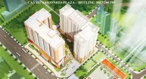 Quy mô khu căn hộ Saigonres Plaza - 0907.288.199